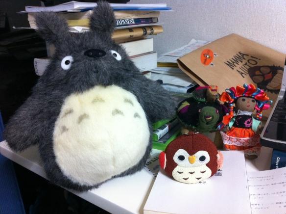 Don Totoro y sus amigos.